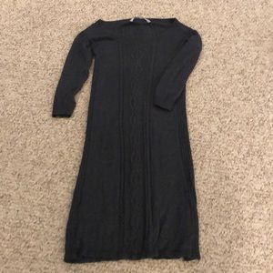 Athleta sweater dress. Gray. Size medium.